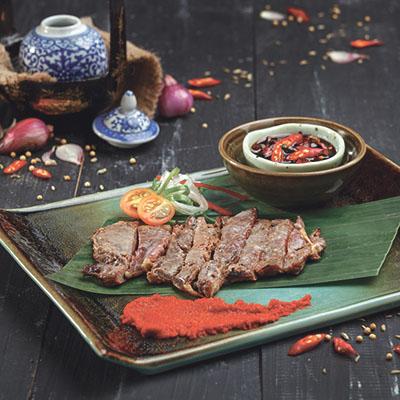 menu marco padang Dendeng Batokok