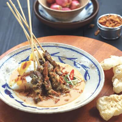 menu marco padang Sate Padang Lidah
