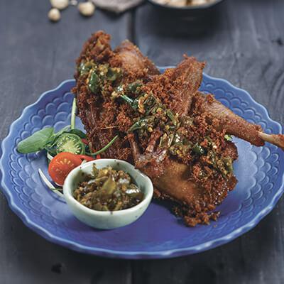 menu marco padang Bebek Goreng Lado Medan