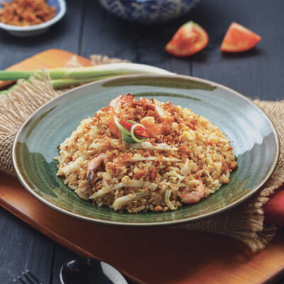 menu marco padang Nasi Goreng Udang Nias