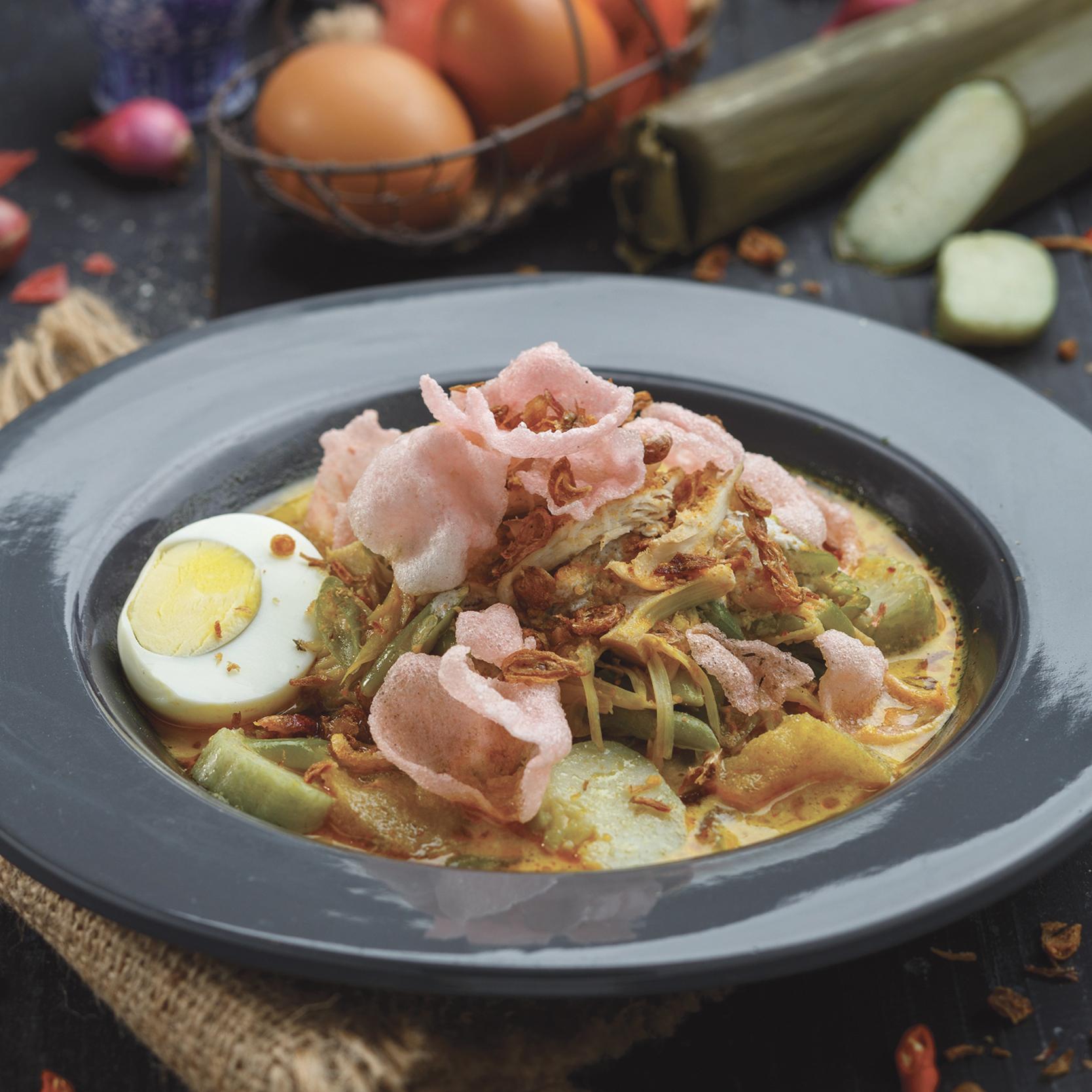 menu marco padang Lontong Sayur Padang