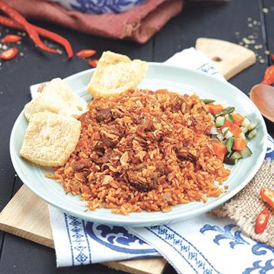 menu marco padang Nasi Coklat Kambing